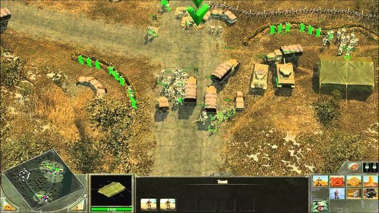 Blitzkrieg (video game series) Blitzkrieg 2 Liberation Allies Landing At Anzio YouTube