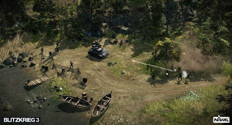 Blitzkrieg (video game series) Nival announce return of WWII realtime strategy series with Blitzk