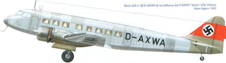 Bloch MB.220 WINGS PALETTE Bloch MB220 Deutsche Lufthansa