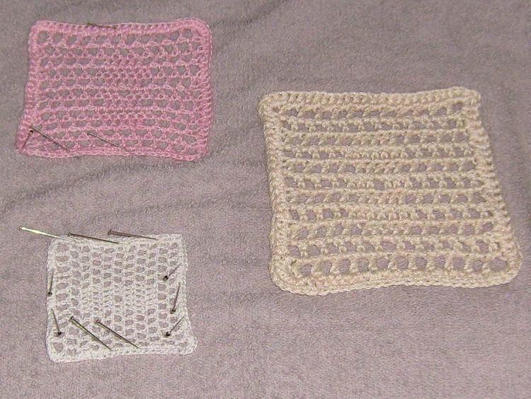 Blocking (textile arts)