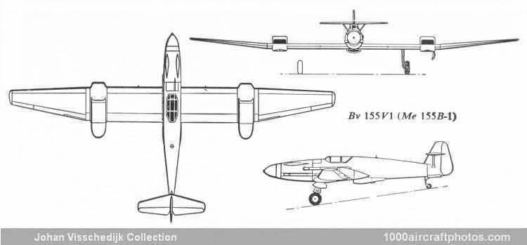 Blohm & Voss BV 155 Blohm amp Voss Bv 155 V2