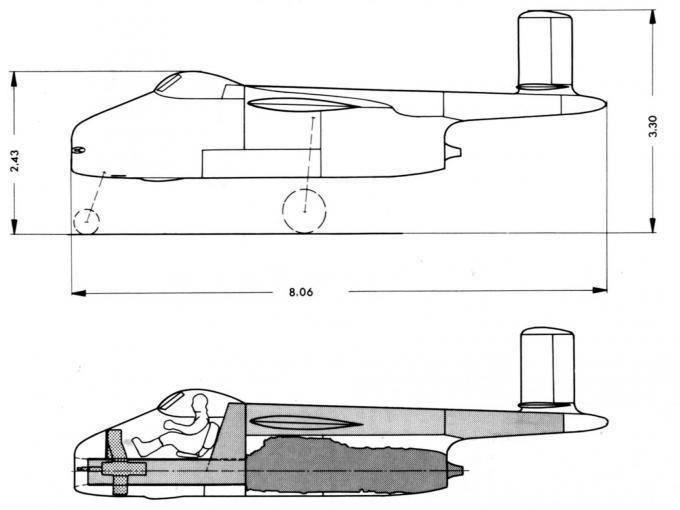Blohm & Voss P.211 Blohm und Voss P 211