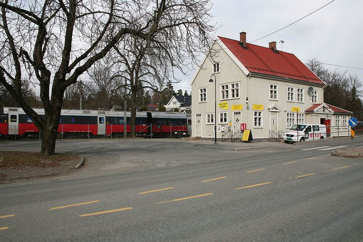Blommenholm Station