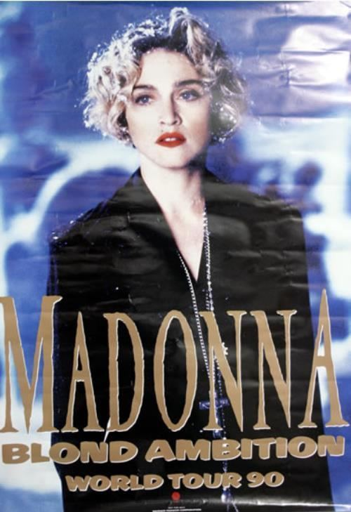 Blond Ambition World Tour Madonna Blond Ambition World Tour Japanese Promo poster 555839