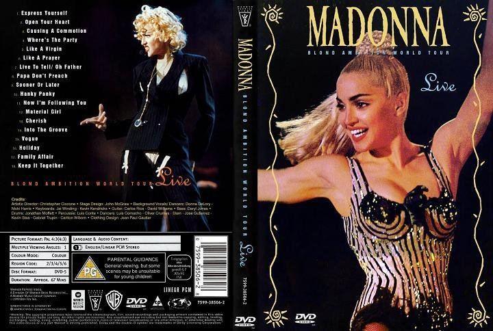 Blond Ambition World Tour Madonna catalog MADONNA BLOND AMBITION WORLD TOUR 90 Nice