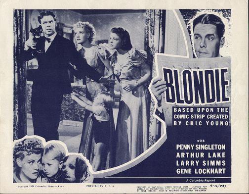 Blondie (1938 film) Free Movie Friday Blondie 1938 The Movie Rat
