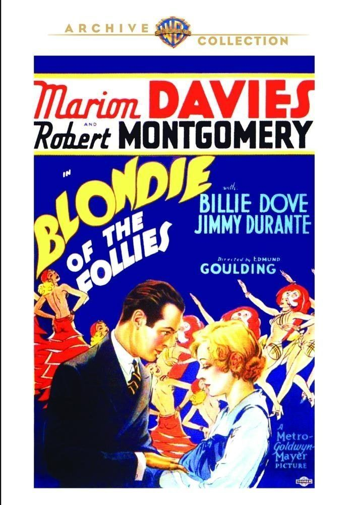 Blondie of the Follies Amazoncom Blondie of the Follies 1932 Marion Davies Robert