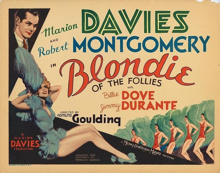Blondie of the Follies Blondie of the Follies 1932