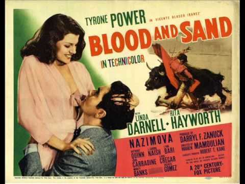 Blood and Sand (1941 film) Blood and Sand 1941 Main Titles by Alfred Newman YouTube
