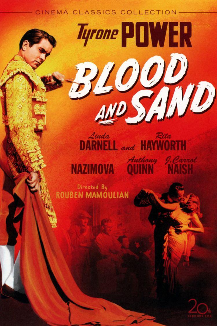 Blood and Sand (1941 film) wwwgstaticcomtvthumbdvdboxart2127p2127dv8