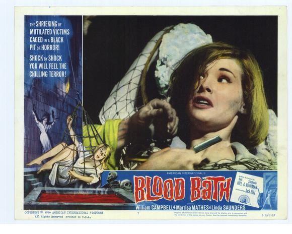 Blood Bath Critical Outcast Movie Review Blood Bath 1966