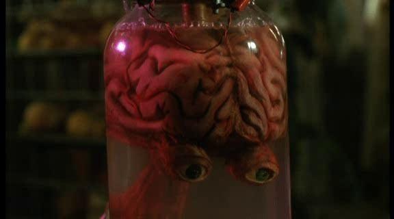 Blood Diner movie scenes Blood Diner brain