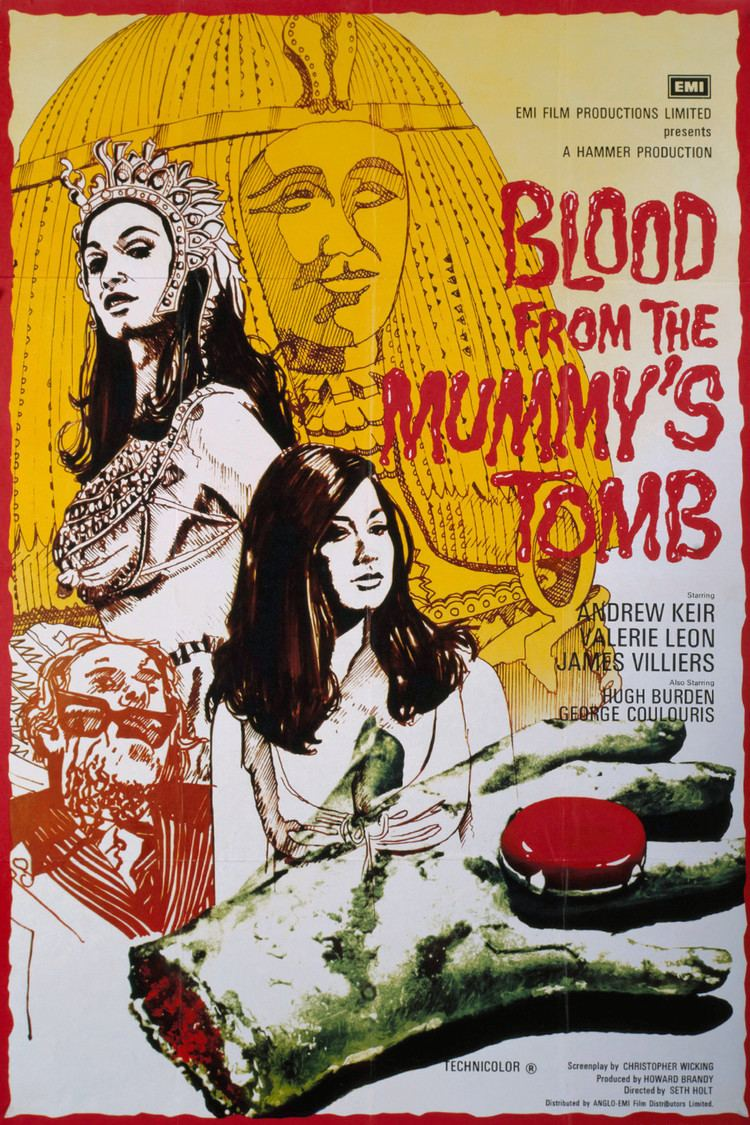 Blood from the Mummy's Tomb wwwgstaticcomtvthumbmovieposters42428p42428