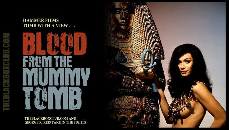 Blood from the Mummy's Tomb The Black Box Club VALERIE LEON HAMMER FILMS BLOOD FROM THE