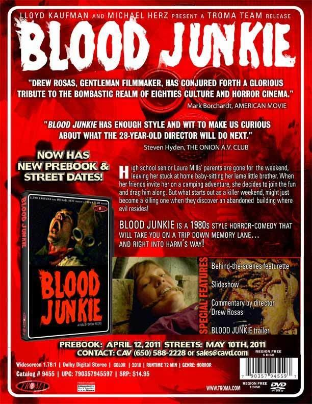 Blood Junkie Severed Cinema Horror Movie Reviews Cult Obscure Movie Reviews