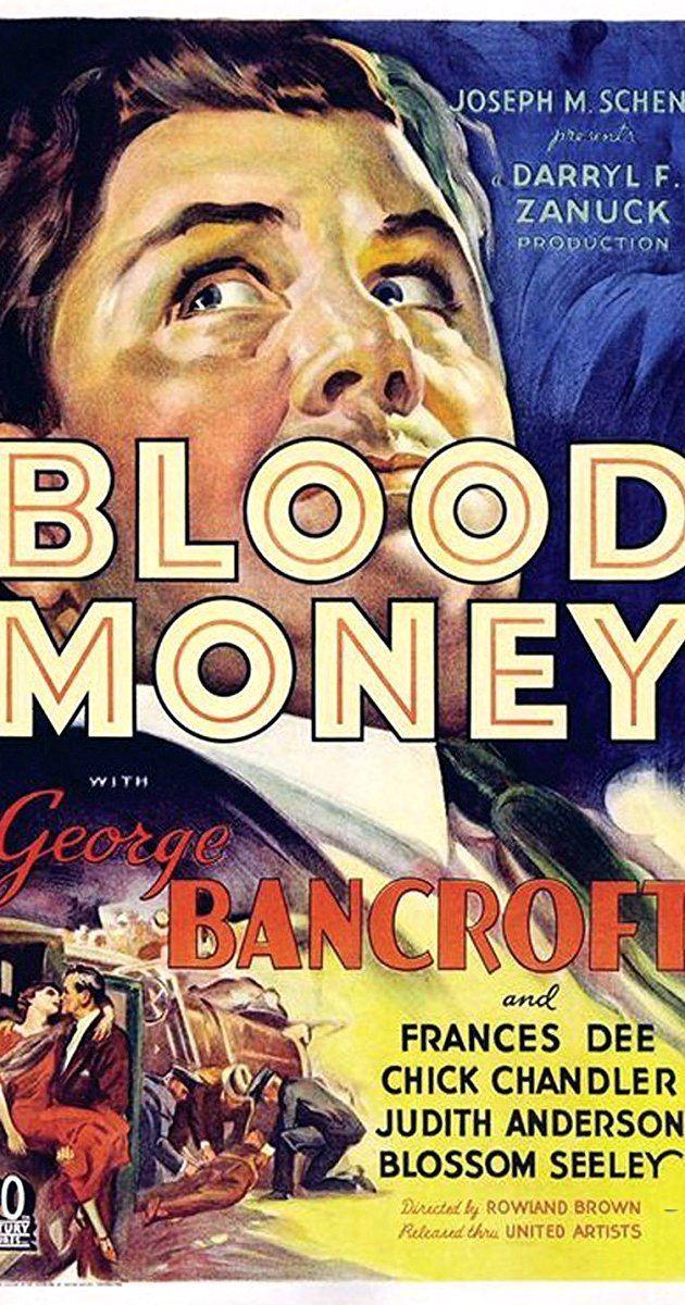 Blood Money (1933 film) Blood Money 1933 IMDb