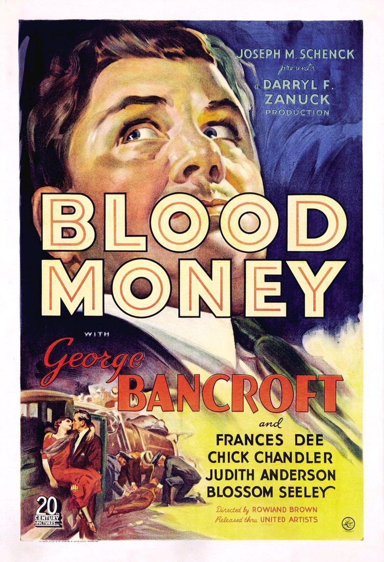 Blood Money (1933 film) Blood Money 1933 film Wikipedia