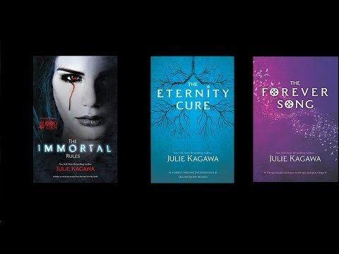 Blood of Eden (series) Blood of Eden Book Trilogy Julie Kagawa ReviewOverview YouTube