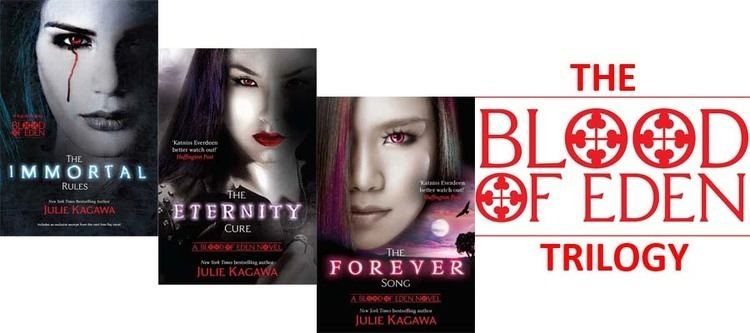 Blood of Eden (series) Review The Blood of Eden by Julia Kagawa A Young Critics Blog