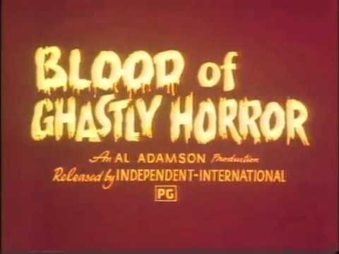 Blood of Ghastly Horror Blood of Ghastly Horror 1972 Trailer YouTube