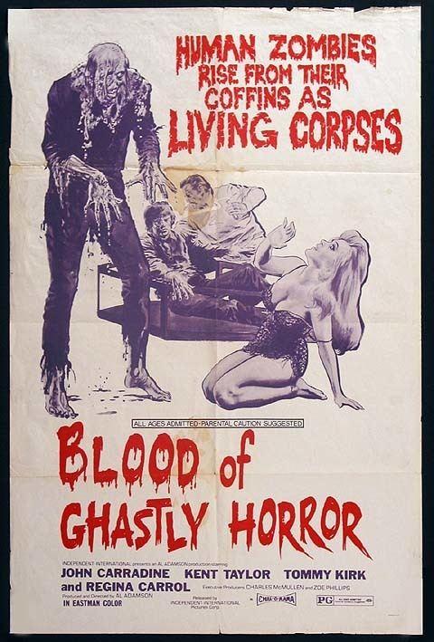 Blood of Ghastly Horror Blood of Ghastly Horror Branded in the 80s