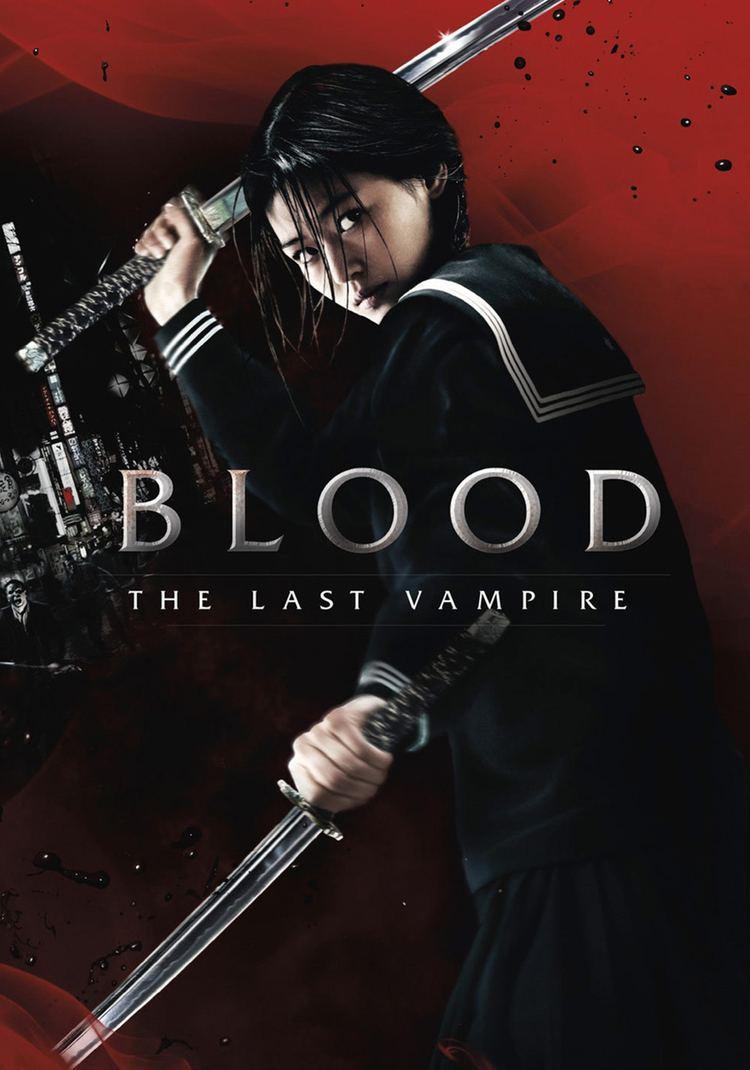 Blood: The Last Vampire (2009 film) movie poster