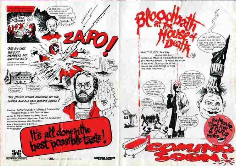 Bloodbath at the House of Death Bloodbath at the House of Death 1984 When Vincent Price appeared
