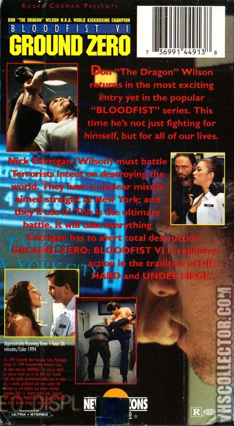 Bloodfist VI: Ground Zero Bloodfist VI Ground Zero VHSCollectorcom Your Analog Videotape