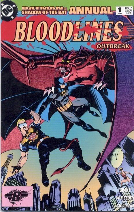 Bloodlines (comics) DC Comic Books comic book quotBloodlines outbreakquot Batman annual 1 1993