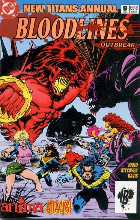 Bloodlines (comics) DC Comic Books comic book quotBloodlines outbreakquot