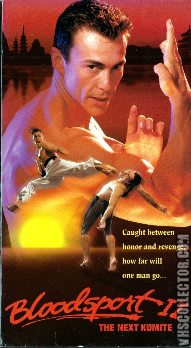 Bloodsport II: The Next Kumite Bloodsport II The Next Kumite VHSCollectorcom Your Analog