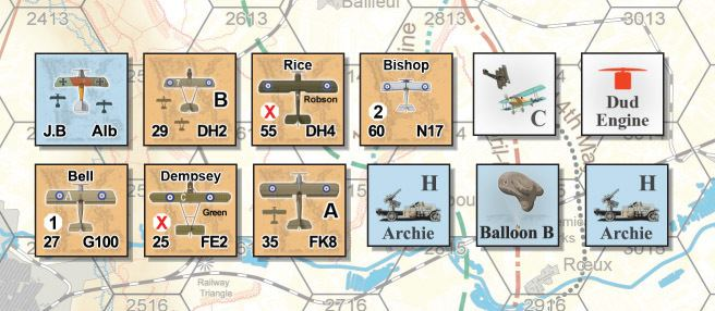 Bloody April GMT Games Bloody April 1917 Air War Over Arras France
