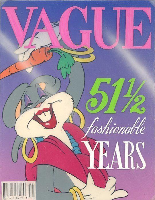 (Blooper) Bunny MisceLooneyous Blooper Bunny Magazine Covers