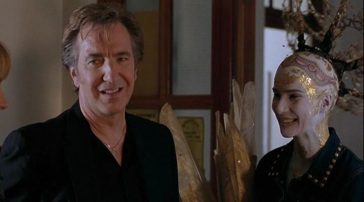 Blow Dry Alan Rickman in Blow Dry Alan Rickman Is Awesome Pinterest Idol