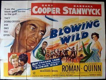 Blowing Wild BLOWING WILD ORIGINAL QUAD POSTER