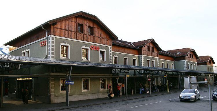 Bludenz railway station
