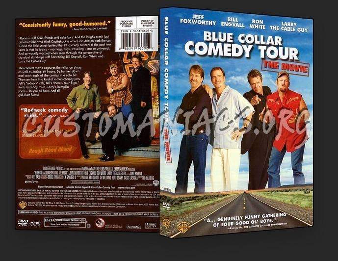Blue Collar Comedy Tour: The Movie Blue Collar Comedy Tour The Movie dvd cover DVD Covers Labels