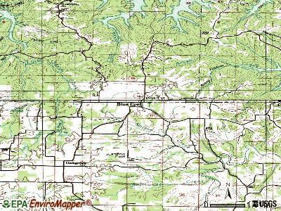 Blue Eye, Arkansas Blue Eyes Map Related Keywords amp Suggestions Blue Eyes Map Long