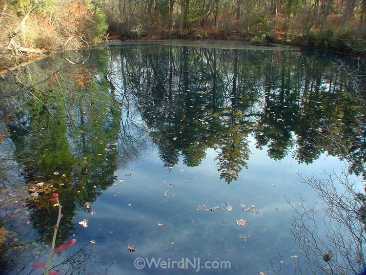 Blue Hole (New Jersey) weirdnjcomwpcontentuploads201208BlueHole1jpg