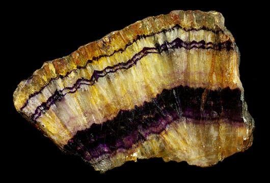 Blue John (mineral) World Fossils Bluejohn Blue John