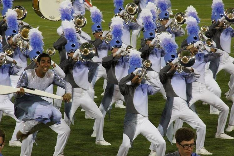 Blue Knights Drum and Bugle Corps Marching In Place A Blue Knight39s Tale