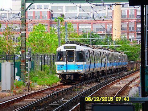 Blue Line (MBTA) MBTA Boston BLUE Line Subway to Wonderland FULL RIDE