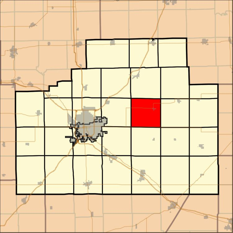 Blue Mound Township, McLean County, Illinois