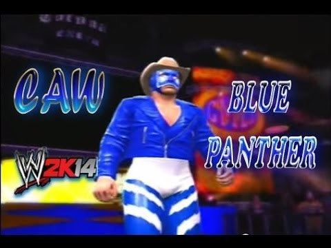 Blue Panther BLUE PANTHER Caw CMLL AAA Leyendas WWE 2K14 Caws