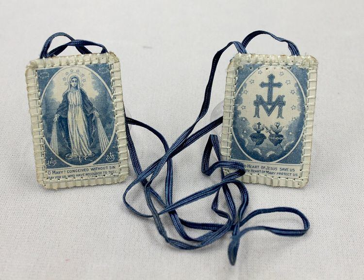 Blue Scapular of the Immaculate Conception