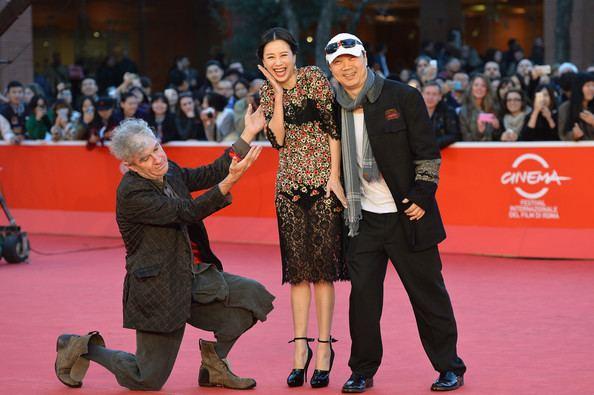 Blue Sky Bones Director Cui Jian in Blue Sky Bones Premieres in Rome Zimbio