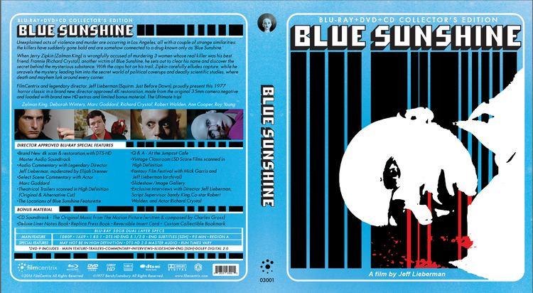 Blue Sunshine (film) Blue Sunshine Blu Ray Collectors Edition 3 Disc Set REGION CODE