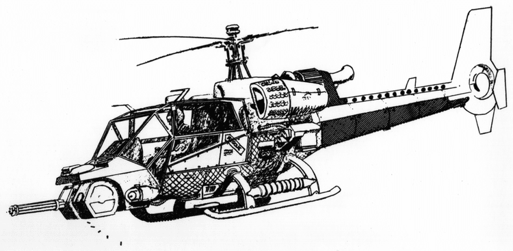 Blue Thunder (helicopter) Blue Thunder the helicopter movie information