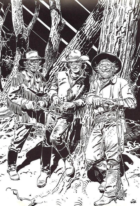 Blueberry (comics) MoebiusJean Giraud Blueberry my alltime favorite western comic