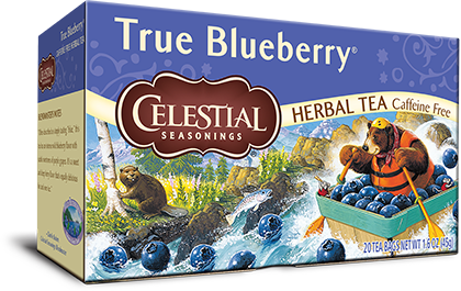 Blueberry Tea True Blueberry Tea Celestial Seasonings Tea Shop